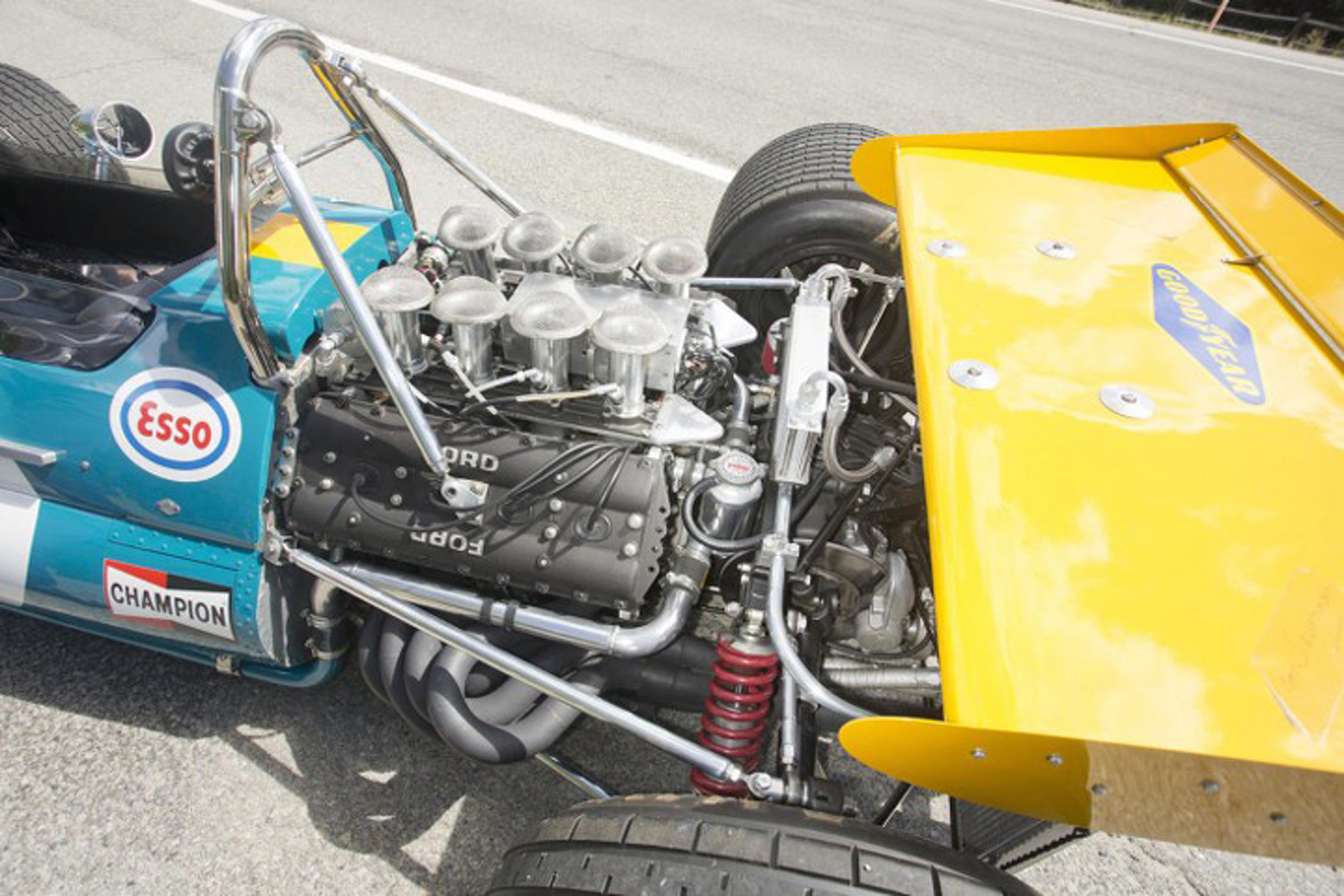 Historic Brabham-Cosworth BT33 Up for Auction
