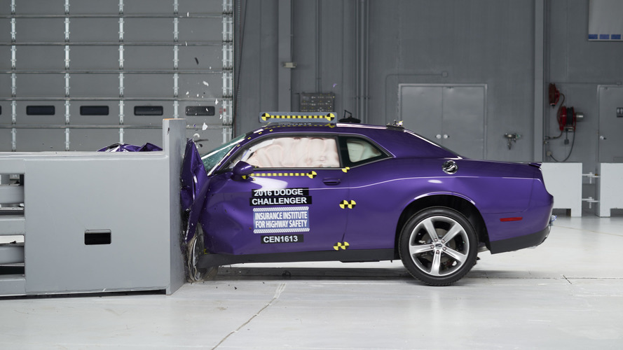 IIHS muscle car crash test videos