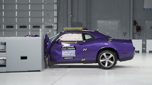 IIHS sports coupe crash test