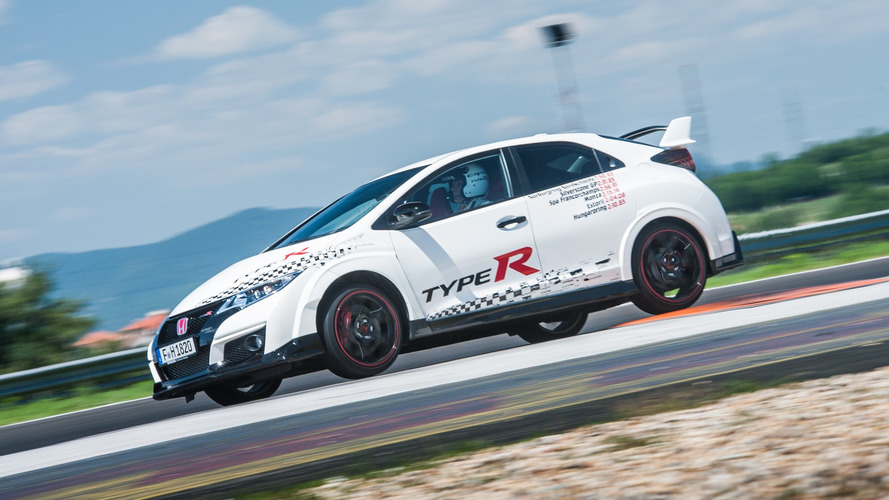 Honda Civic Type R sets records at legendary Euro circuits