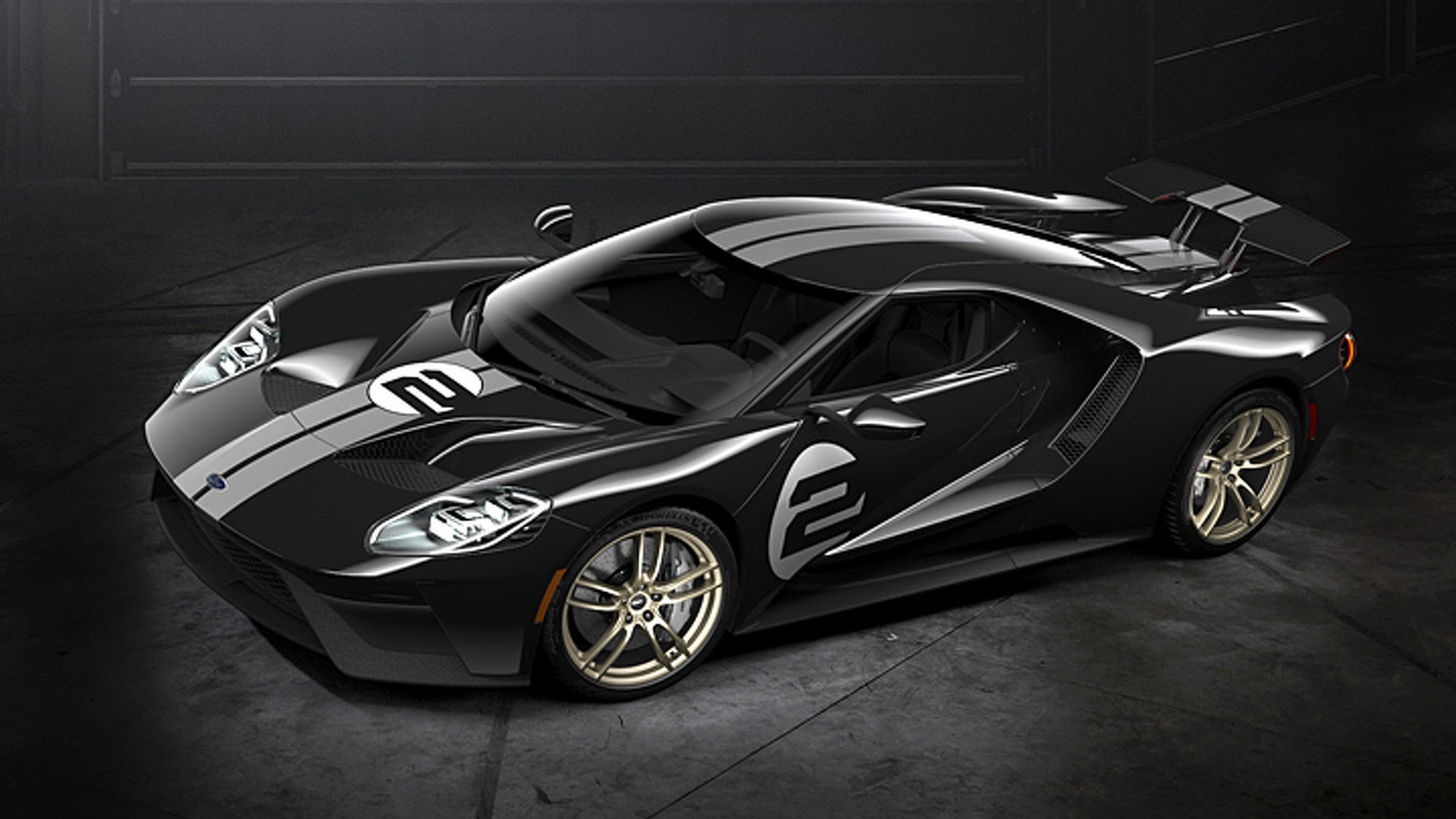 Ford Goes Retro With 2017 Ford GT '66 Heritage Edition