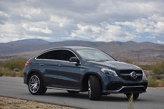 The Mercedes-Benz GLE 63 AMG S Coupe Defies Physics: First Drive