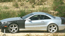 Mercedes SL major facelift spy photos