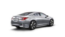 Subaru Legacy concept celebrates the model's 25th anniversary in Los Angeles