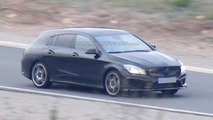 2015 Mercedes CLA Shooting Brake spy photo