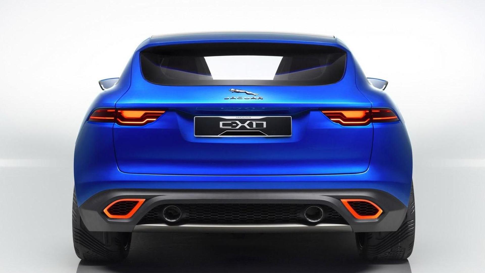 Jaguar C-X17 concept first photos released