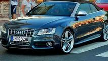 Audi S5 Cabrio Rendered