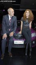 Shakira unveils the SEAT Leon Pies Descalzos in Berlin