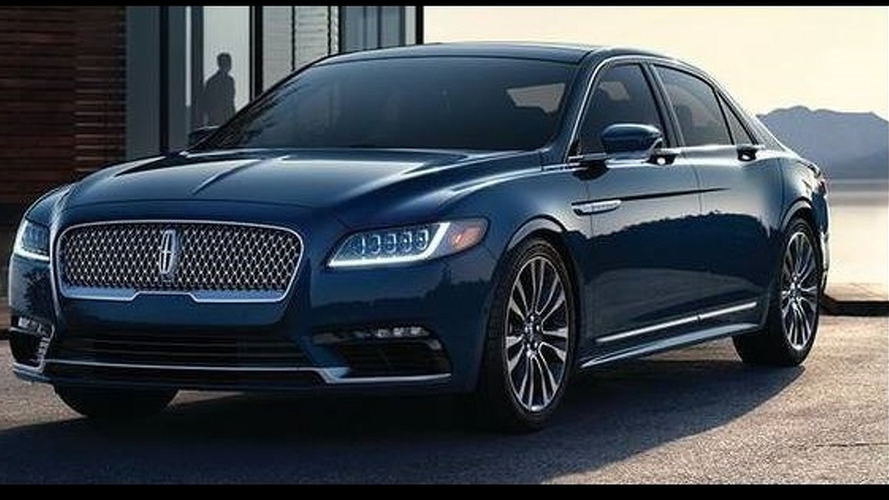 2017 Lincoln Continental leak shows upscale version