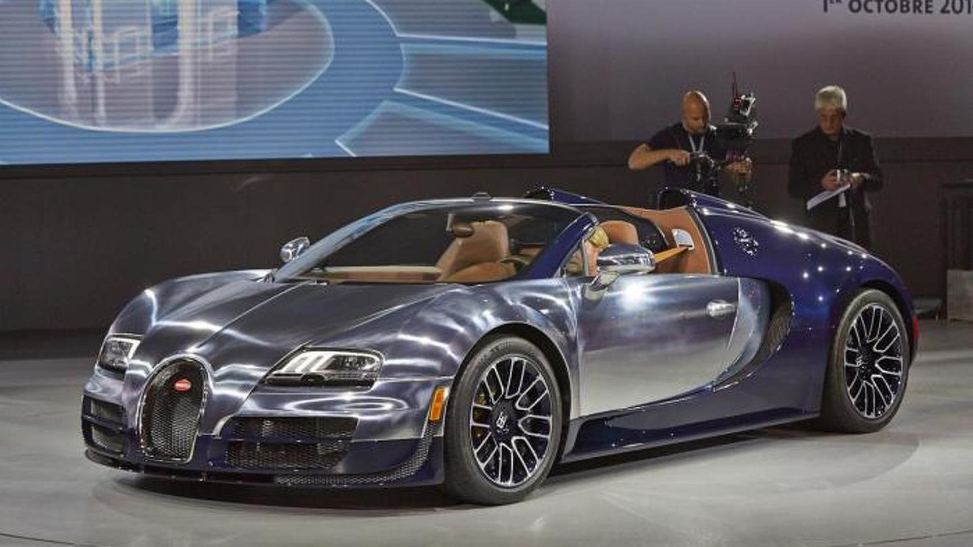 Bugatti Veyron Grand Sport Vitesse Ettore Bugatti special edition arrives in Paris