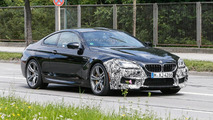 BMW M6 facelift spied for the first time