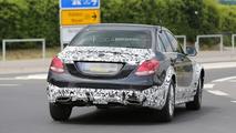 2014 Mercedes-Benz C-Class mule spy photo
