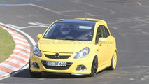 Opel Corsa OPC Nurburgring Edition spy photo, Nurburgring Nordschleife, Germany, 27.04.02010
