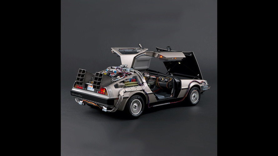 BTTF DeLorean scale model is incredibly detailed (and expensive)