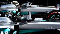 Lewis Hamilton, Mercedes AMG F1 W07 Hybrid, Nico Rosberg, Mercedes AMG F1 W07 Hybrid