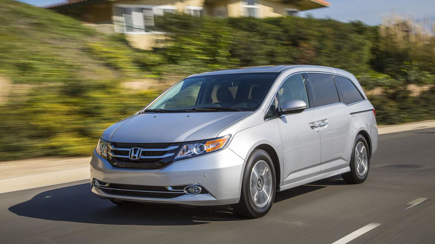 Honda recalls 642K Odyssey minivans for unsecured second row seats
