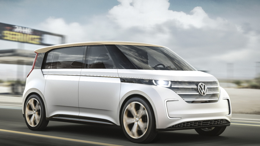 VW Budd-e concept is a Microbus for the 21st century