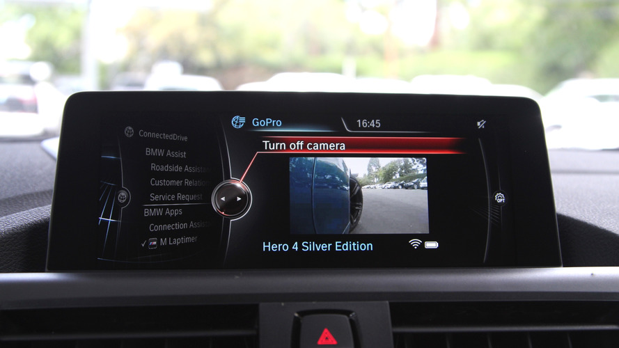BMW M Laptimer gets GoPro camera integration