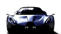 PSC Motors previews 1,700 bhp plug-in hybrid supercar called SP-200 SIN