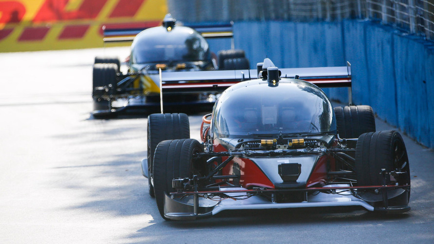 Roborace public test ends in a crash in Buenos Aires