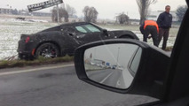 Alfa Romeo 4C prototype goes ditch diving [video]