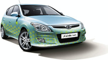 Hyundai Unveils Trio of i-blue Advanced Eco-Dynamic Vehicles
