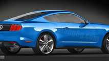 2015 Ford Mustang comes to life in the latest renderings