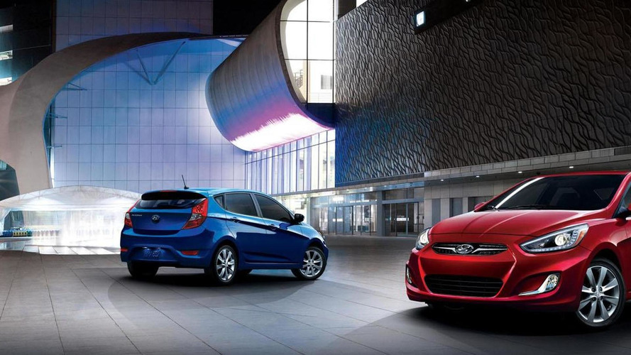 2014 Hyundai Accent revealed, features revised styling & additional standard equipment