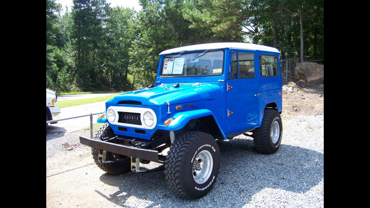 Toyota Land Cruiser 1980 >> Toyota FJ40 Land Cruiser