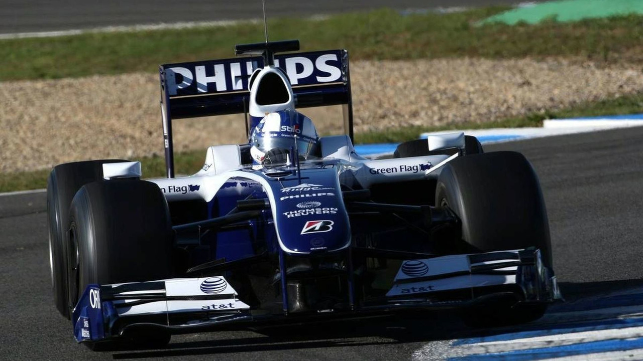 Andy Soucek (ESP), Tests for WilliamsF1 Team - Formula 1 Testing, Jerez