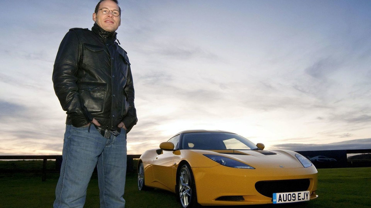 Jacques Villeneuve with Lotus Evora 28.11.2009