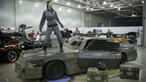 Death Race Style Chevy Camaro at Moscow Tuning Show