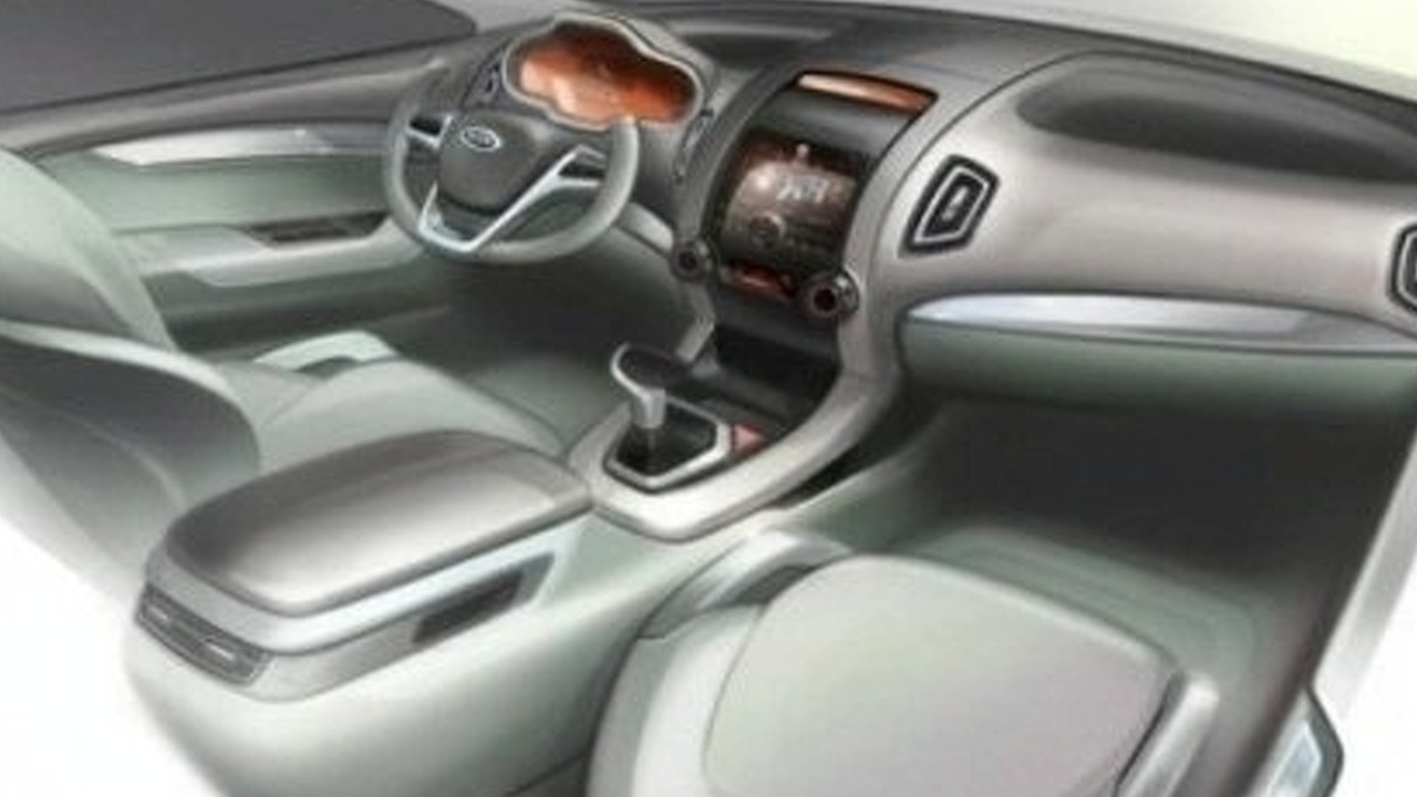 2010 Kia Sorento Interior Sketch