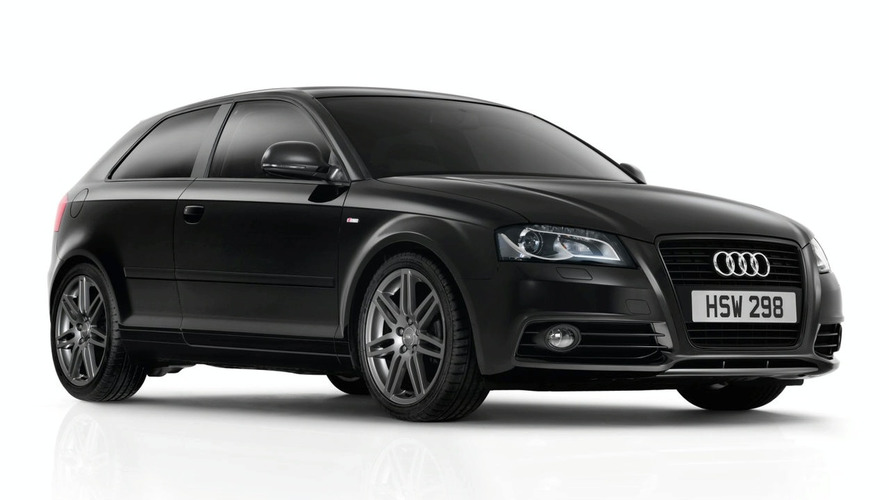 Audi A3 Black Edition released (UK)