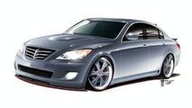 Hyundai and RKSport to Unveil High-Performance Genesis Sedan at SEMA