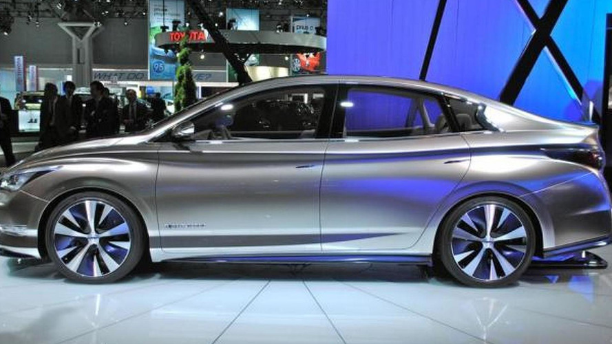Infiniti LE all-electric concept previewed