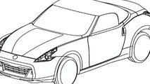 Nissan 370Z Roadster Design Sketch