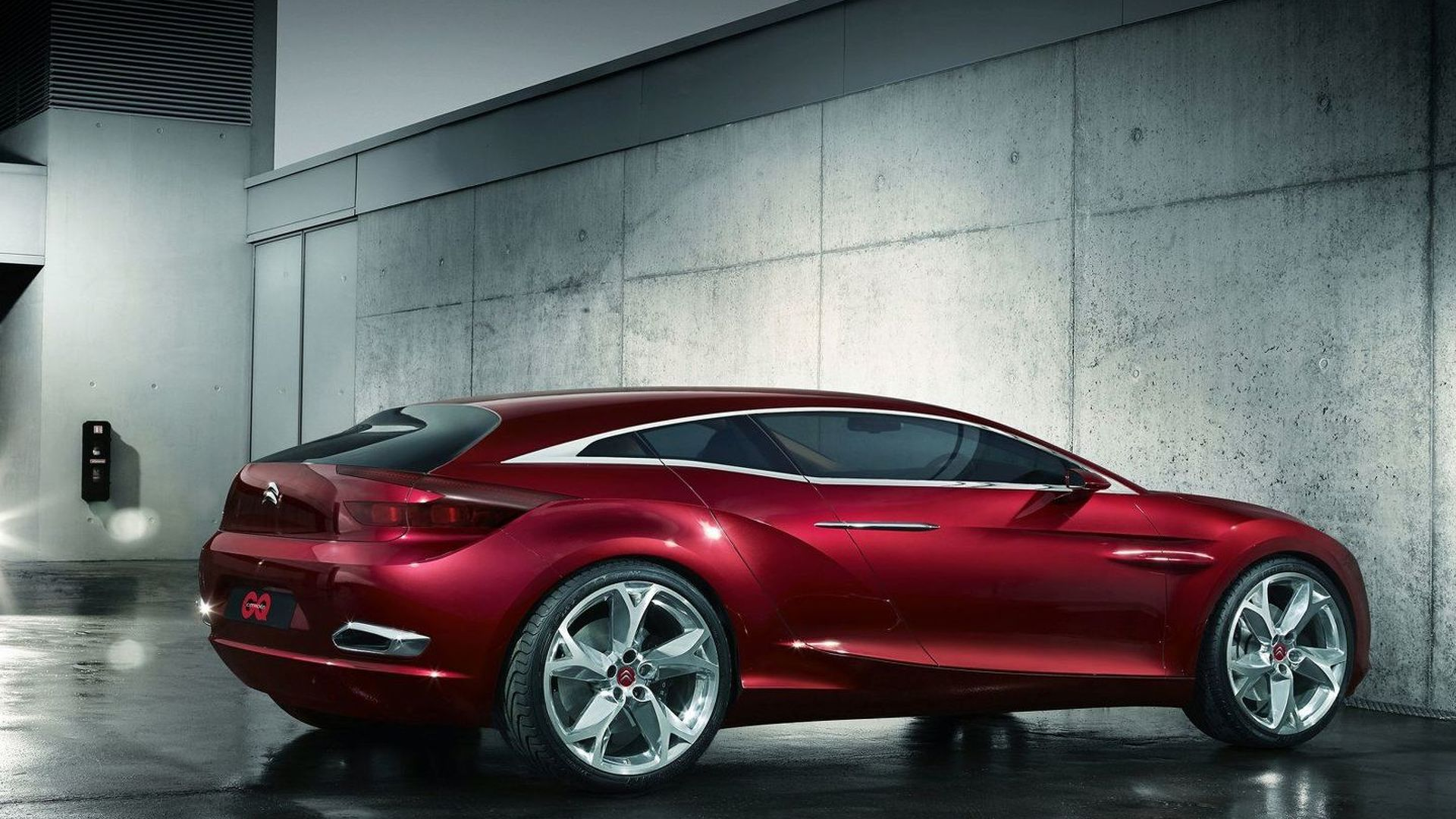 GQ by Citroen Concept First Photos and Details