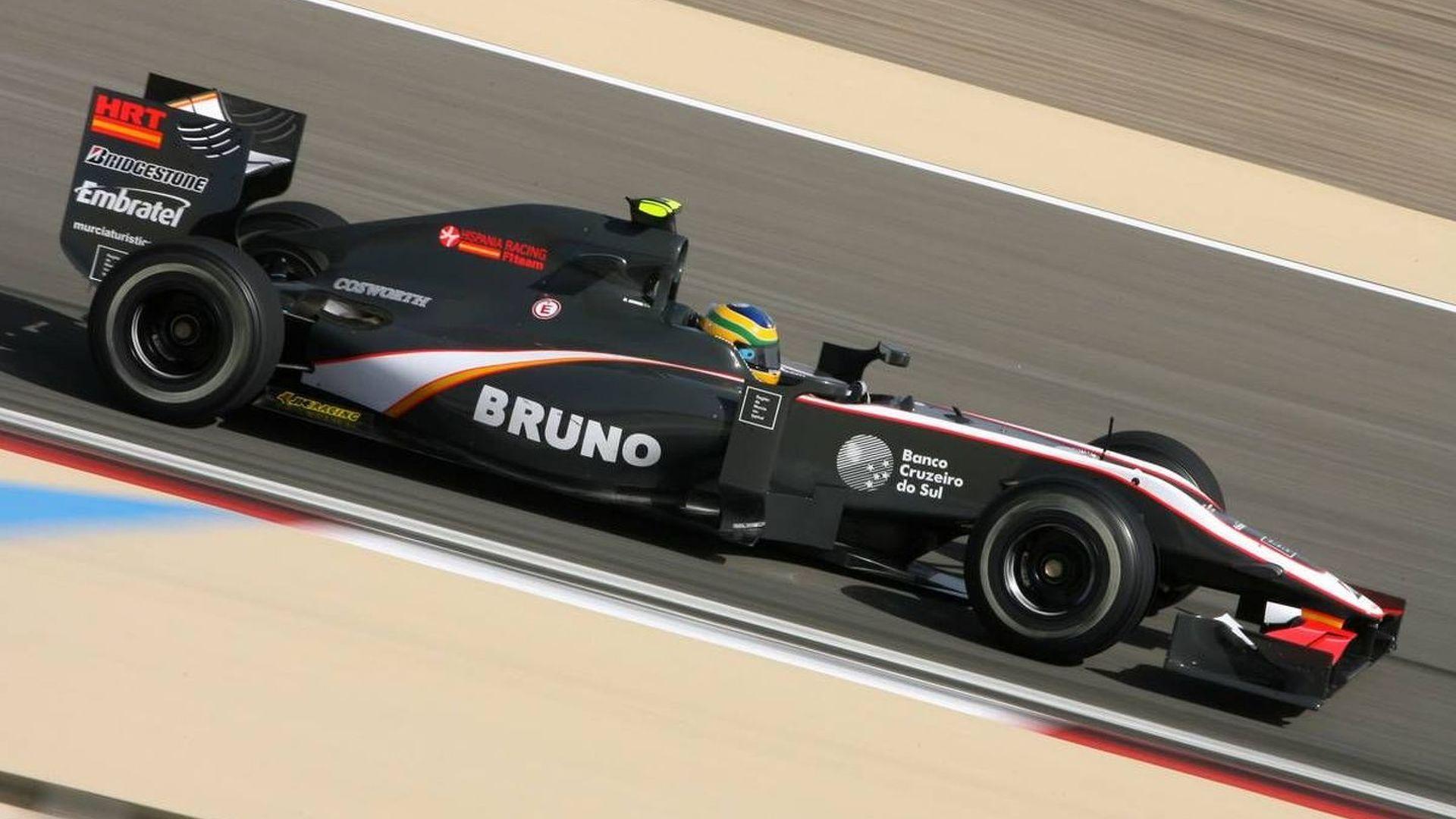 HRT denies fighting for F1 survival