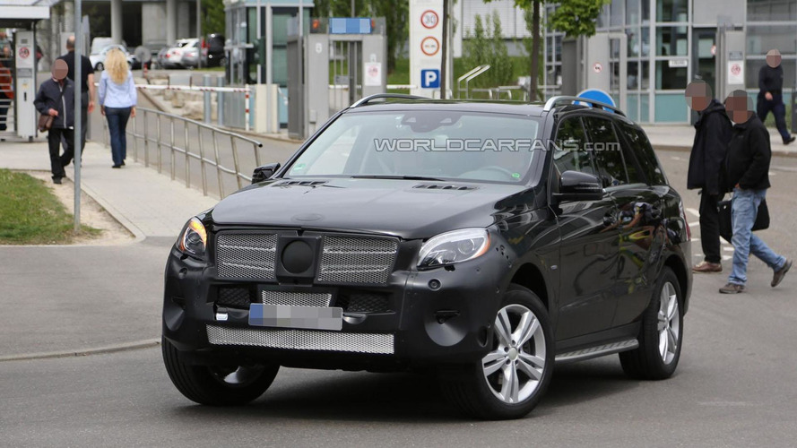 Mercedes-Benz M-Class facelift to be introduced fall 2015 - report