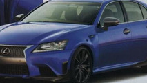 Lexus GS F spied virtually undisguised