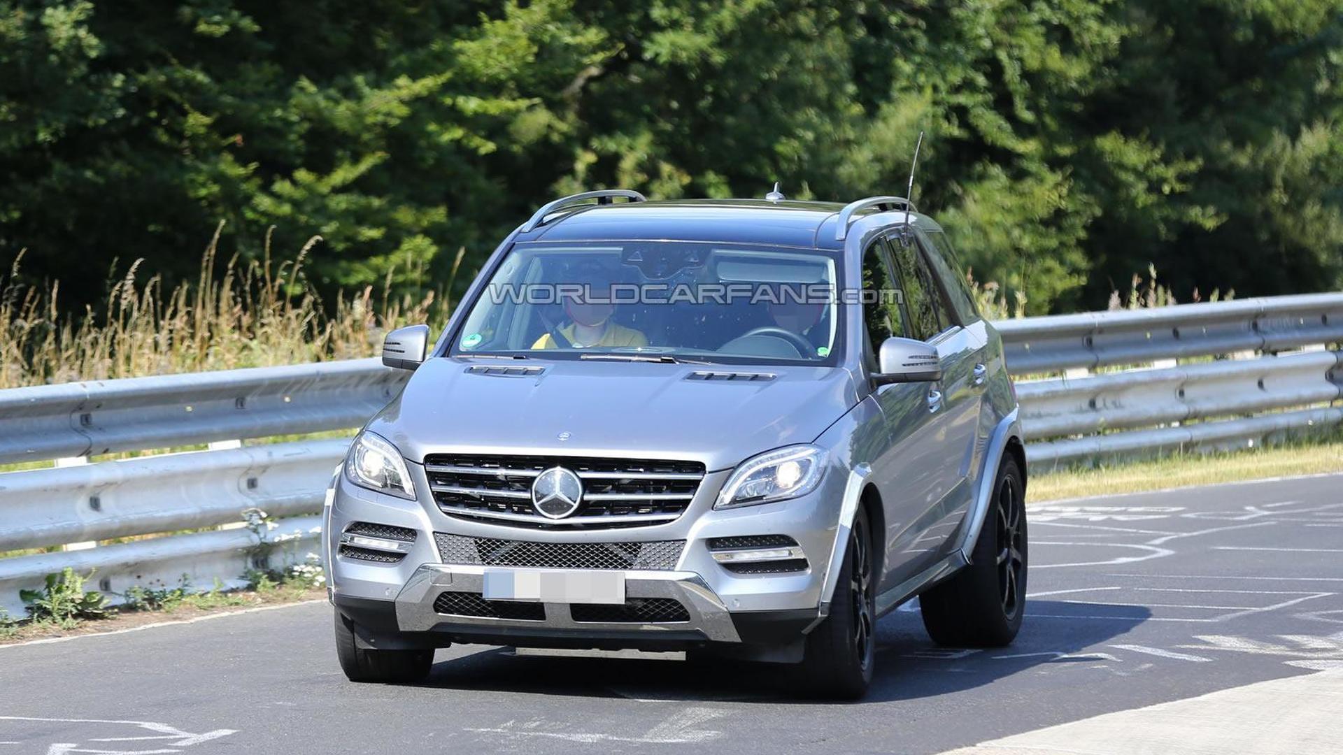 2015 Mercedes Benz Mlc Spied Undergoing Testing