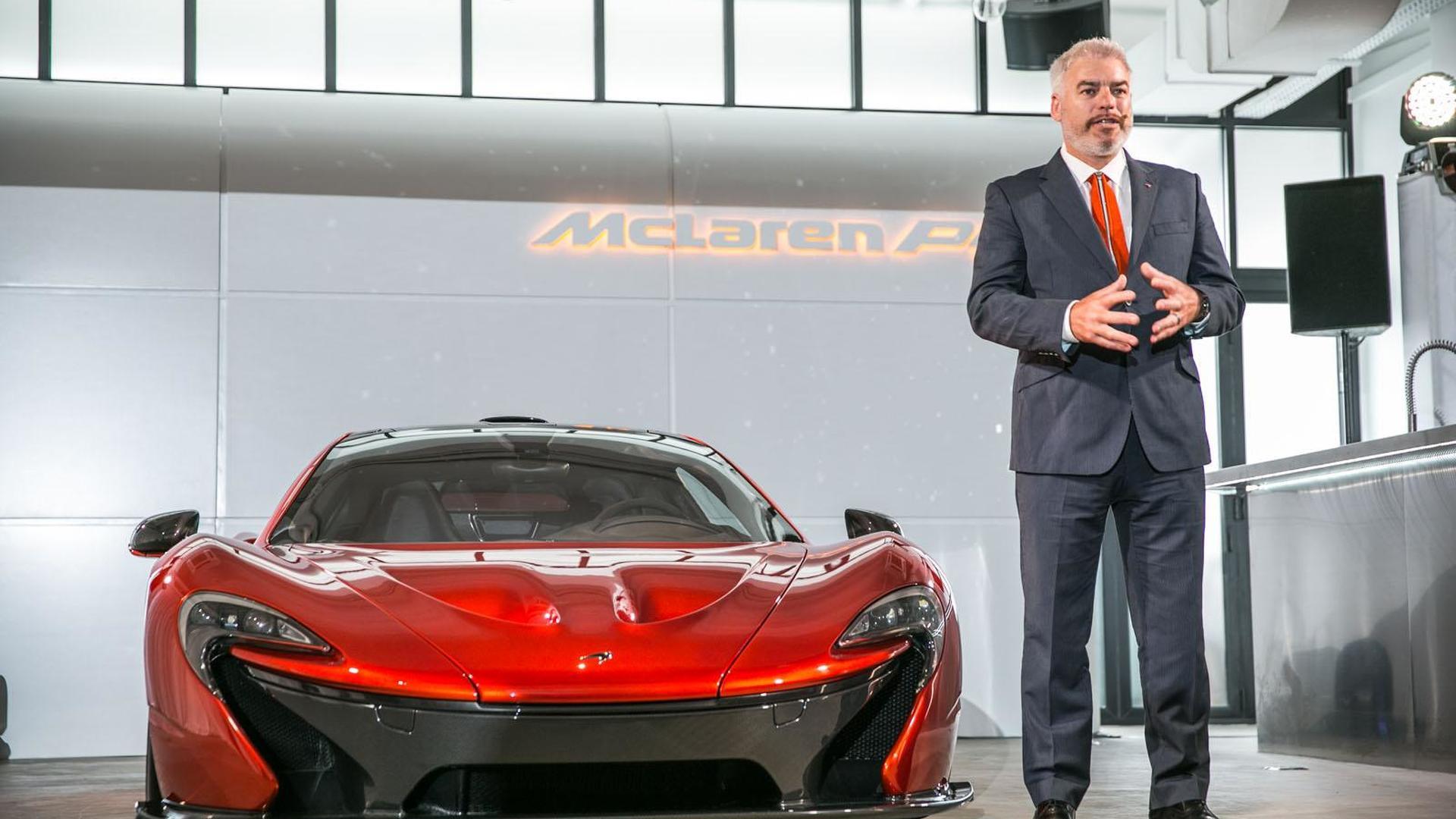 McLaren P1 & 12C B&W Edition shown in Hong Kong