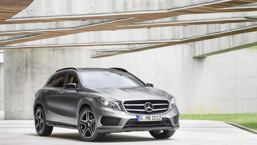 2016 Mercedes GLA gains new equipment in the U.S.