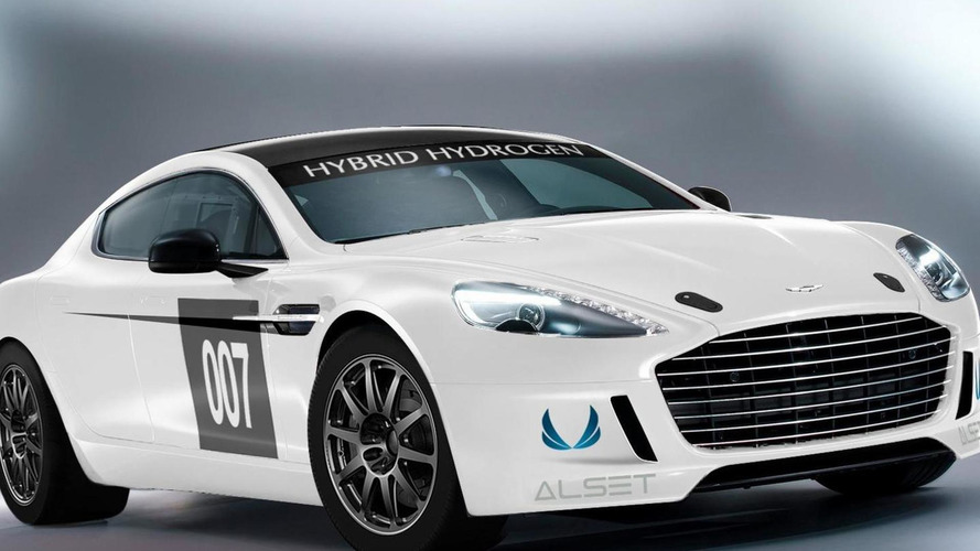 Aston Martin Hybrid Hydrogen Rapide S to race at Nurburgring