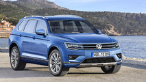 2017 Volkswagen Touareg digitally imagined