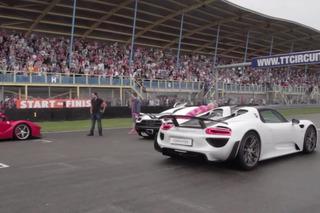 LaFerrari, McLaren P1, Porsche 918 and Koenigsegg Agera Share the Track [Video]