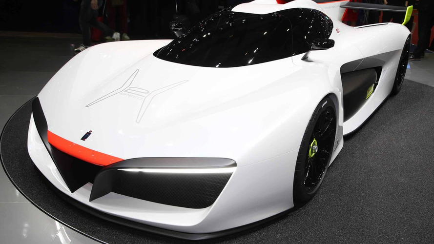 Pininfarina H2 Speed concept proposes hydrogen race car [video]