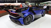 Techrules AT96 TREV supercar concept debut in Geneva