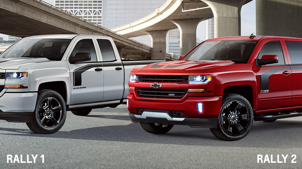 2016 Chevrolet Silverado Rally Edition
